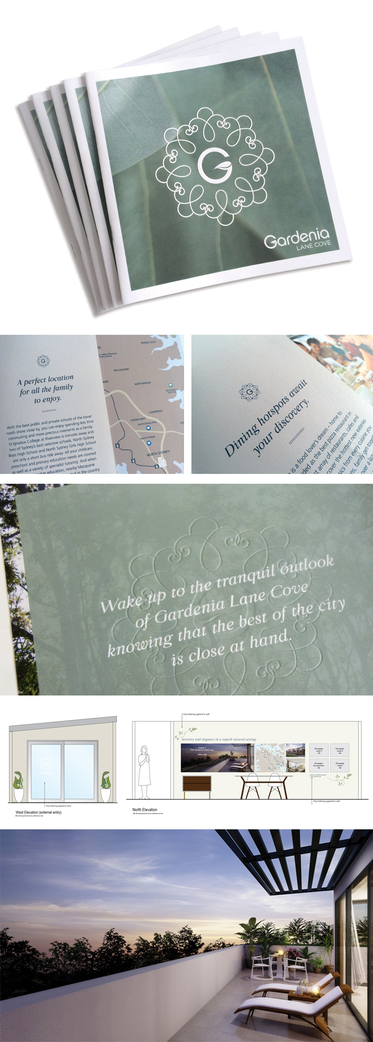 Gardenia brand design communications